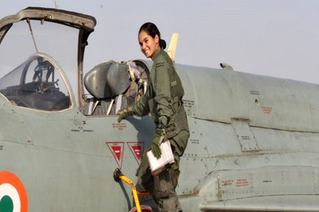 First indian female pilot