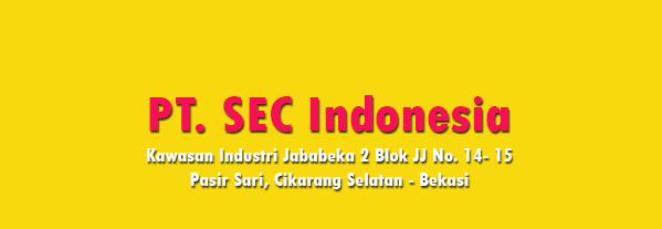 Lowongan Kerja PT. SEC Indonesia