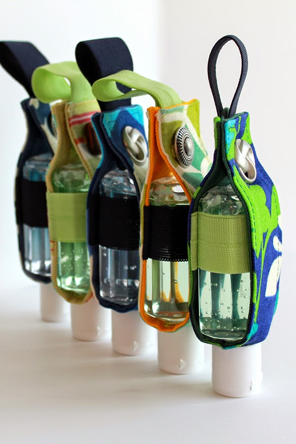 Hand Sanitizer Jackets make a great teacher gift -- personalize something teachers want and need!