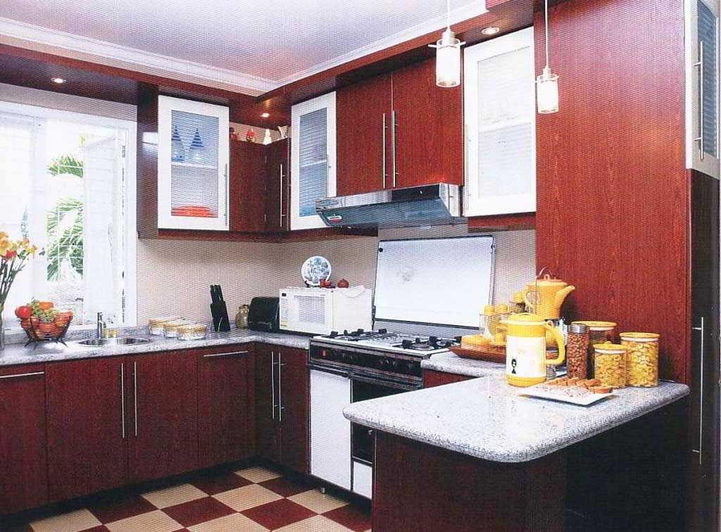 Desain Dapur Minimalis L