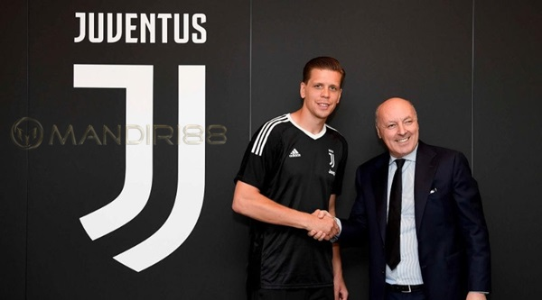 Wojciech Szczesny Teken Kontrak empat Musim di Juventus