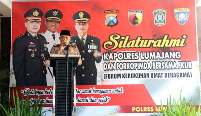 Kapolres Lumajang, AKBP Rachmad Iswan Nusi, M.H