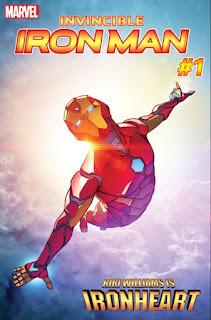 """Riri Williams cogerá el relevo de la armadura de Iron Man pasando a llamarse """"Ironheart"""""""