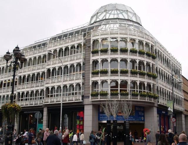 Shoppings em Dublin