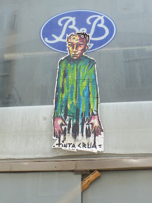 Street Art, Urban Art, Graffiti, Arbeiten auf Papier - Tinta Crua in Lissabon