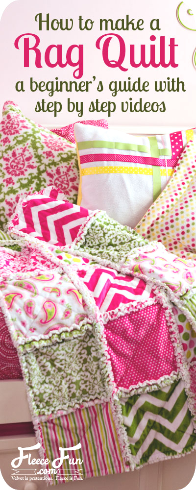 How To Make A Rag Quilt Diy 3 Easy Beginner S Tutorials