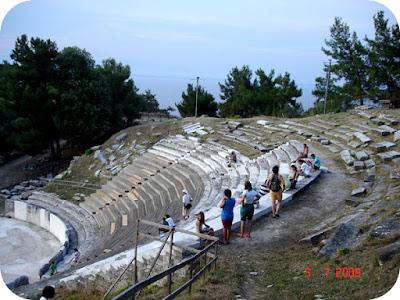 Limenas - capitala insulei Thassos