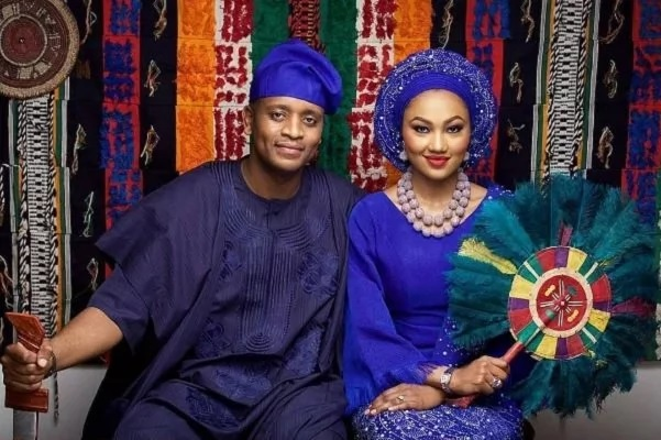 Zahra Buhari's sweet note to new husband, Ahmed Indimi