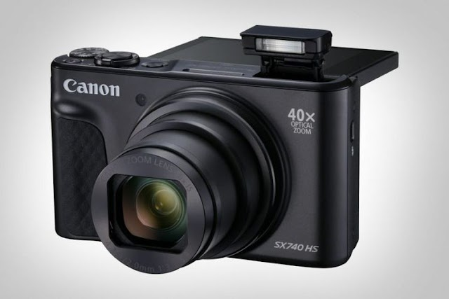 Canon PowerShot SX740 HS Kamera Saku Pertama dengan Video 4K