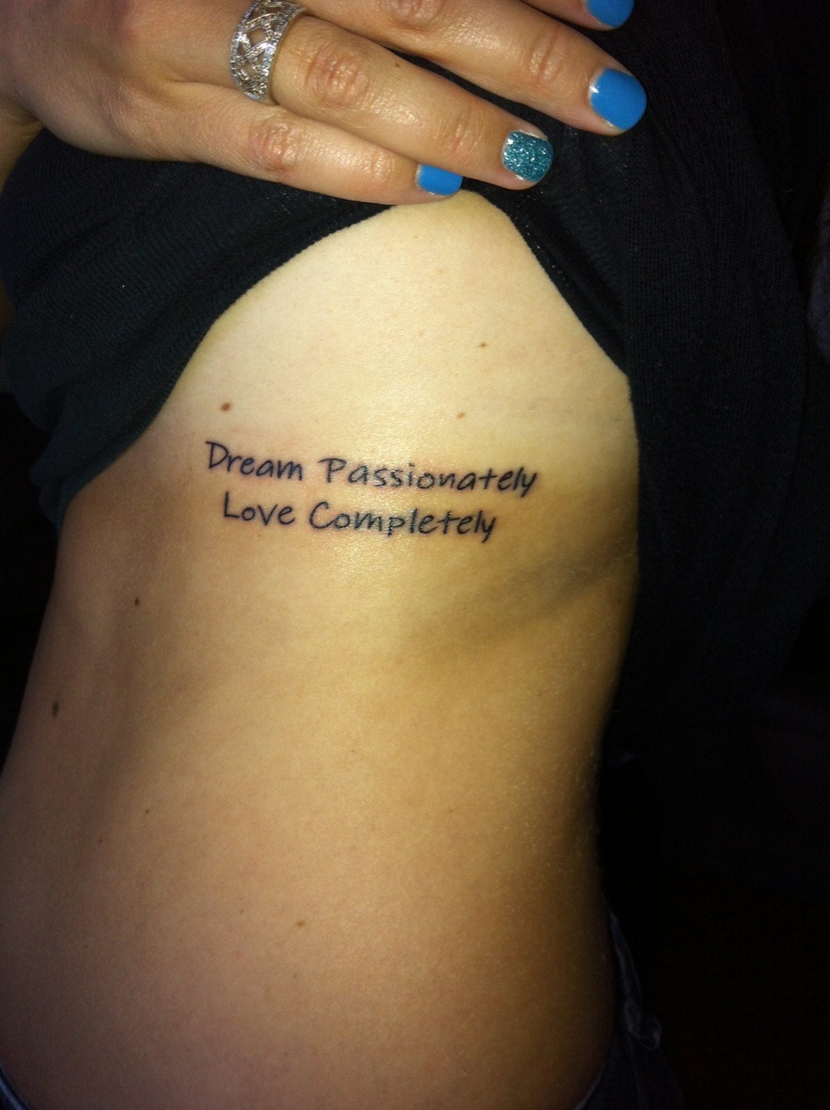 Our Own Kind of Paradise: ::Me:: I Got A Tattoo!