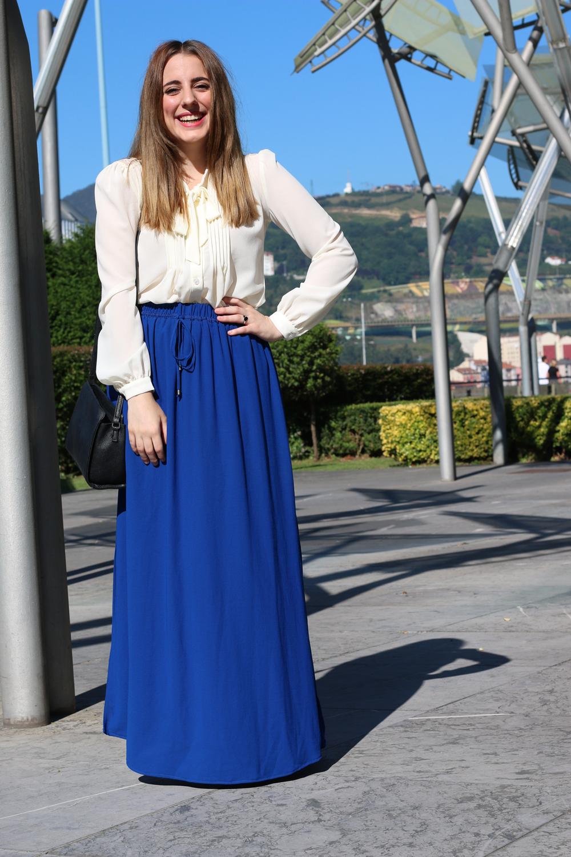 b5c5a05949 Y Me Wardrobe Larga My Falda Elegante Con Myself Bloguera UP8twq