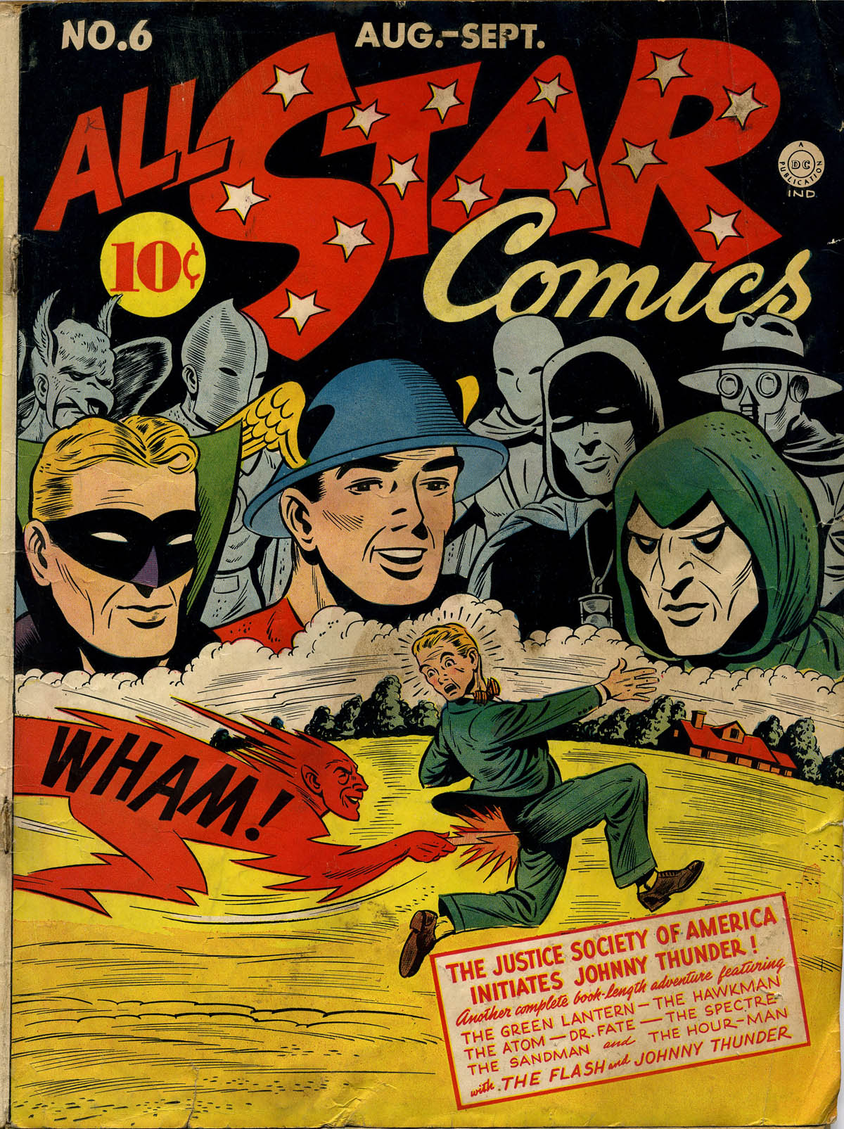 Read online All-Star Comics comic -  Issue #6 - 1