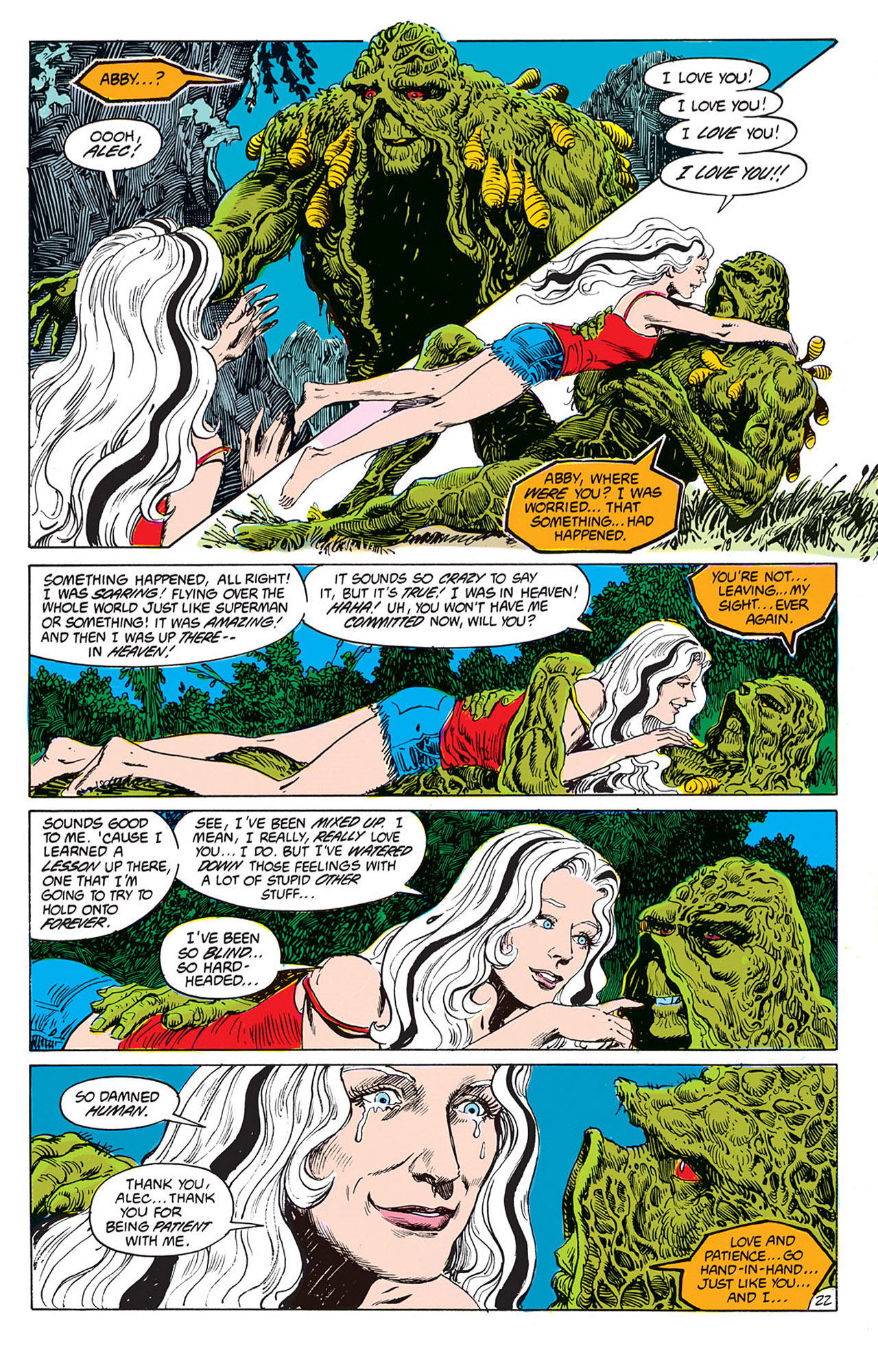 Swamp Thing (1982) Issue #66 #74 - English 22