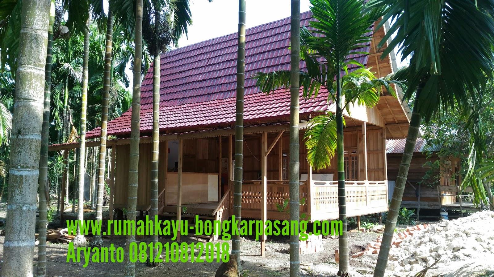 Desain Rumah Panggung Jambi Kayu Bongkar Pasang