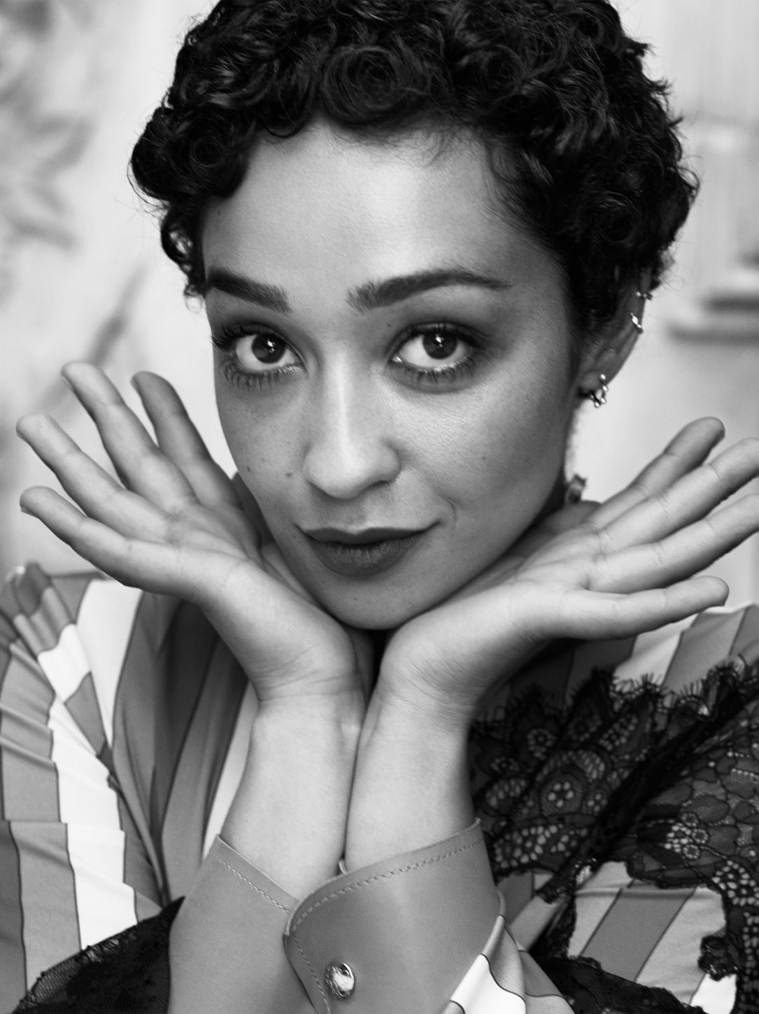 Ruth Negga Is Met Best Dressed 2017 Lainey: Ruth Negga In Town & Country US August 2017 By Victor