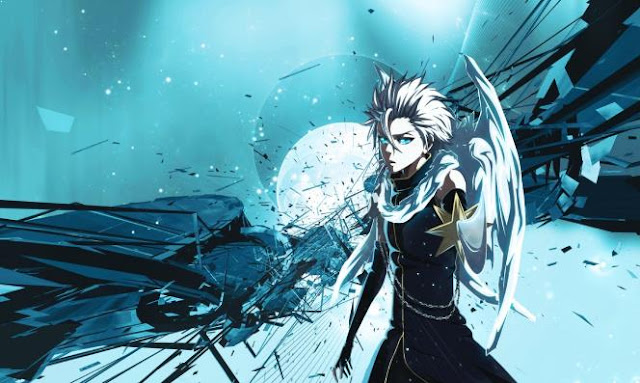 Hitsugaya Toushiro ( Bleach ) - Top Strongest Anime Characters with Ice Power