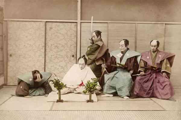 Ritual Bunuh Diri Seppuku di Jepang