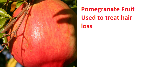 Health Benefits of Pomegranate Fruit (anar fruit) juice - Pomegranate Fruit Used to treat hair loss