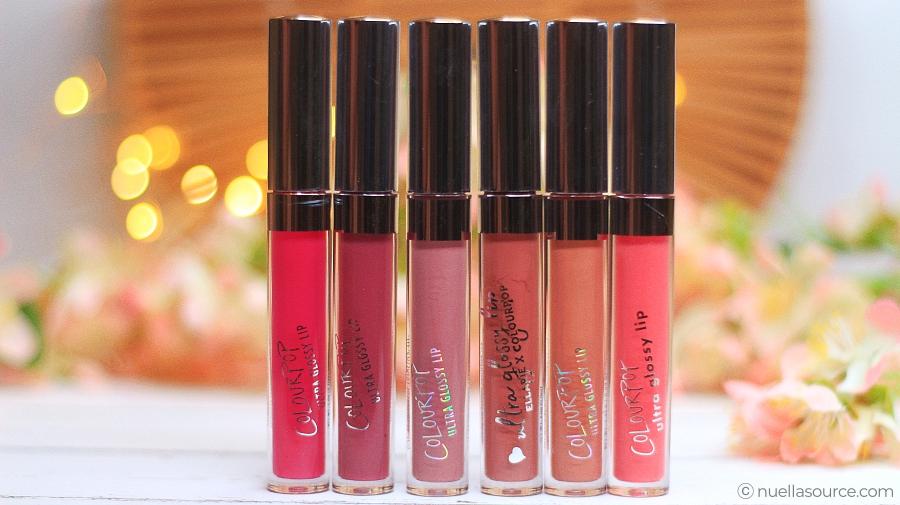 Colourpop ultra glossy lip glosses