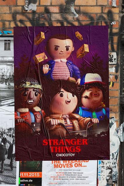Stranger Toys, Los protagonistas de Stranger Things como figurillas adorables