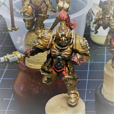Custodes Warrior Blown Up