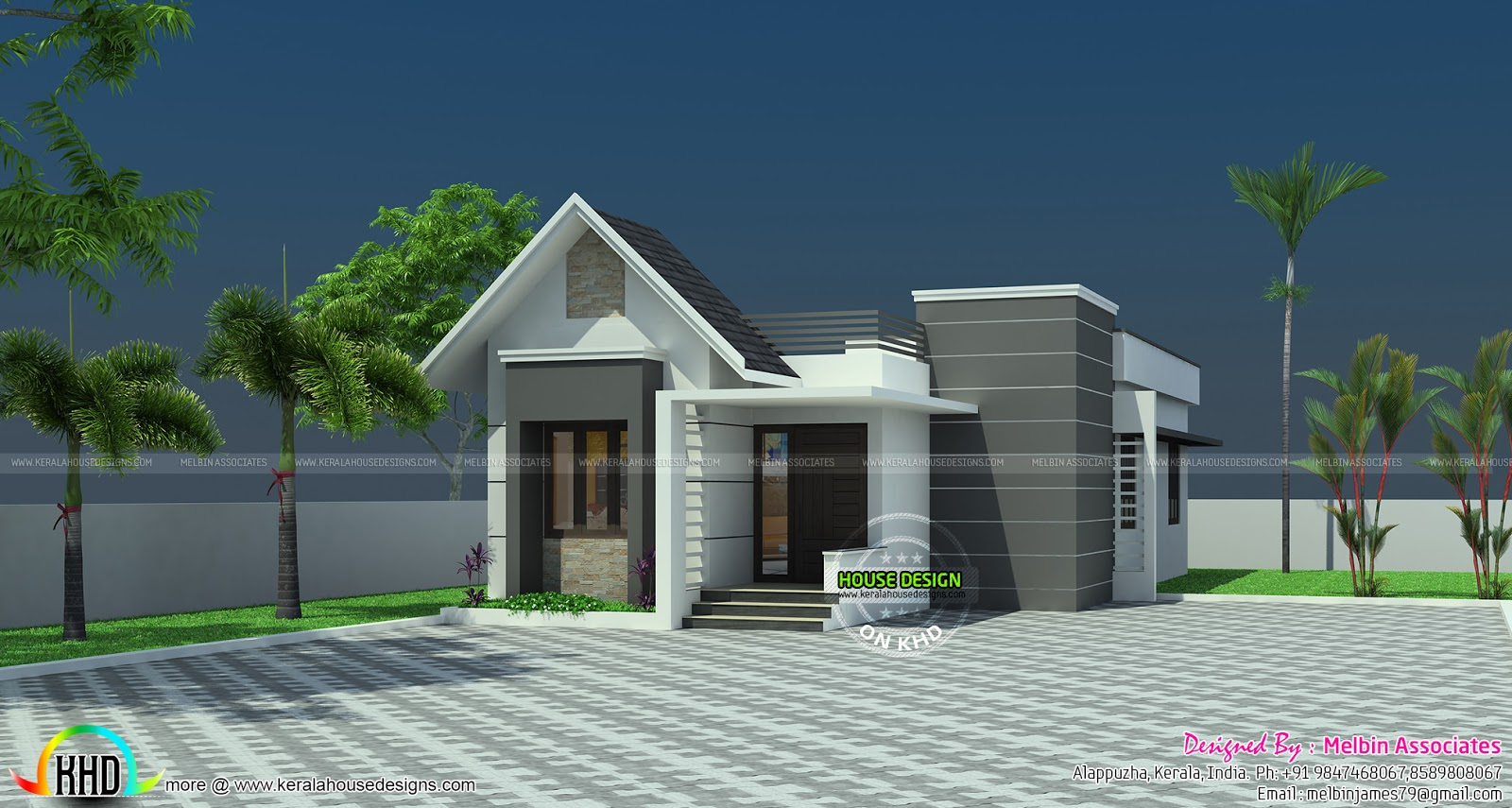 Tiny House Plan Kerala Home Design And Floor Plans 8000 Houses