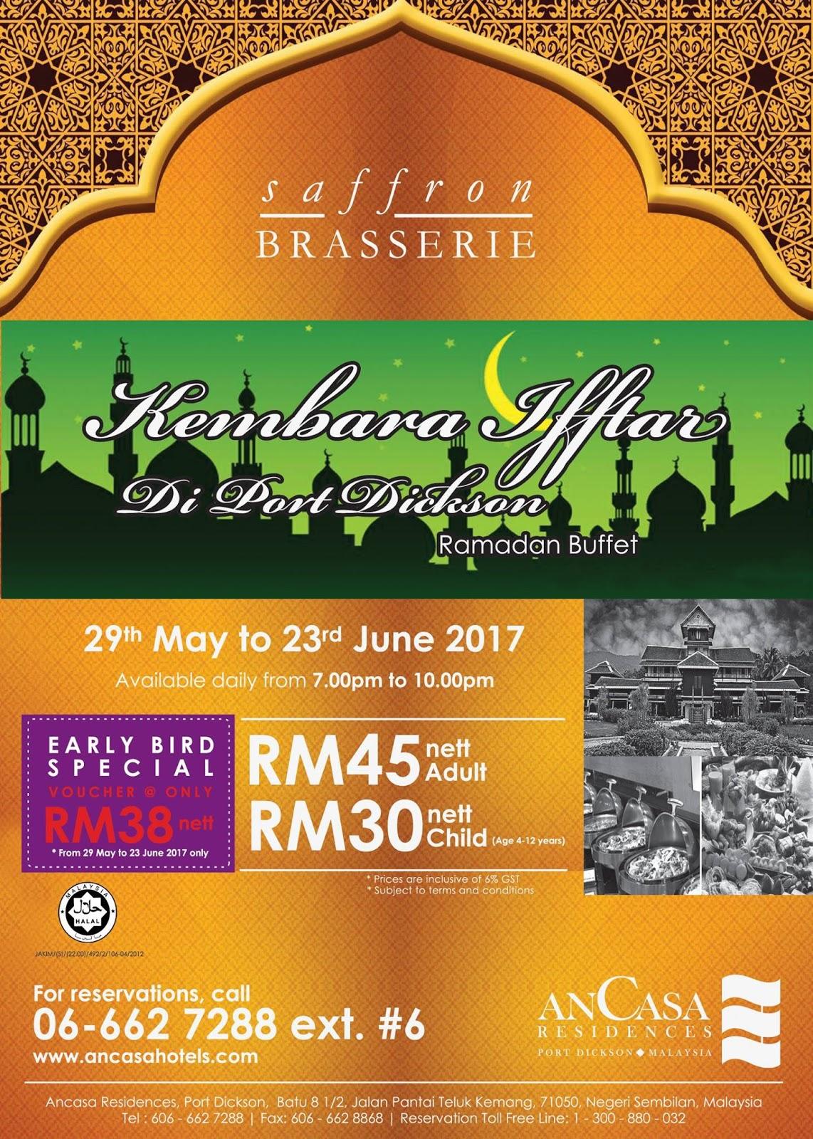 Buffet Ramadhan ancasa pd