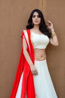 Sidhika Sharma Hot Navel Show Photos