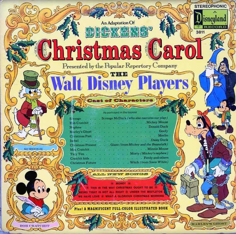Dickens' Christmas Carol By The Walt Disney Players