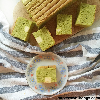 Matcha Japanese Cheesecake with The Laughing Cow Cheese