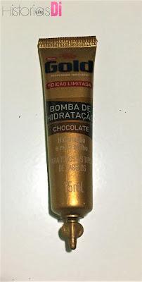 Ampola Bomba de hidratação chocolate - Glambox do mês de dezembro
