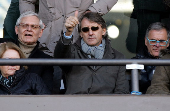 Roberto Mancini can now be heard on Manchester's Metrolink