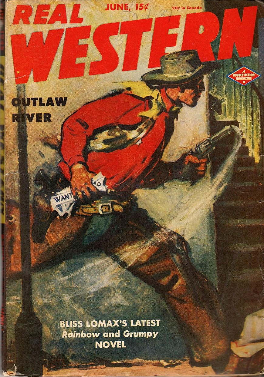 Rough Edges: Saturday Morning Western Pulp: Real Western ...