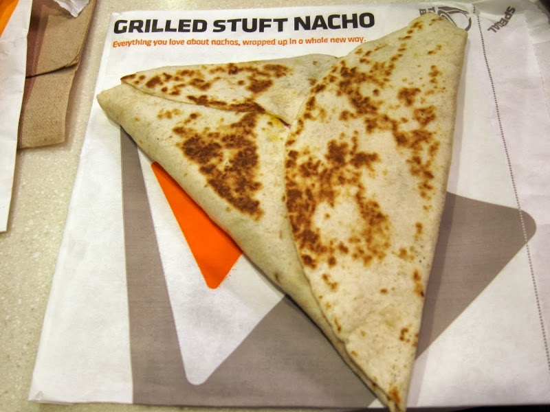 Taco Bell Nacho Wrap Taco Bell s Grilled Stuft