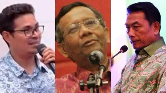 Faizal Assegaf Ngaku Tak Temukan Prestasi Moeldoko: Jokowi Butuh Sosok Seperti Pak Mahfud MD