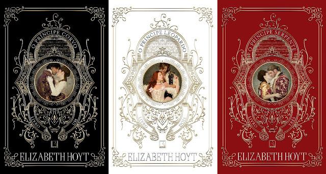 #Novidadesliterárias: Trilogia de Romance de época da autora Elizabeth Hoyt