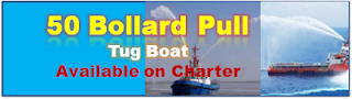 50 Bollard Pull Tug Boats, Tug for Towing, India, East Coast, West Coast, AHT, OSV