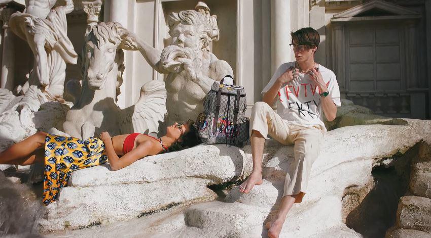 Canzone Pubblicità spot Gucci primavera estate zaino Roma musica - Marzo 2017