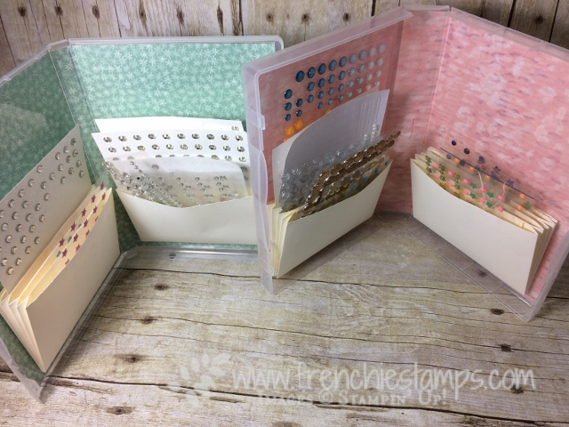 Clear case for Embellishment, Stampin'Up!