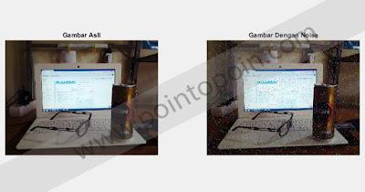 Output Perbandingan Kualitas Gambar