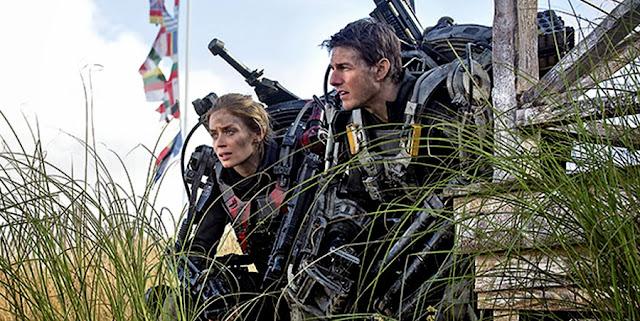 Tom Cruise şi Emily Blunt în filmul sci-fi Edge Of Tomorrow