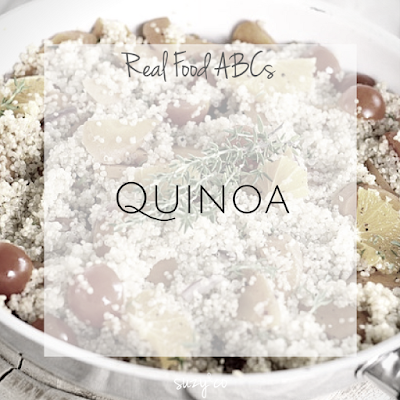 real food abcs - quinoa
