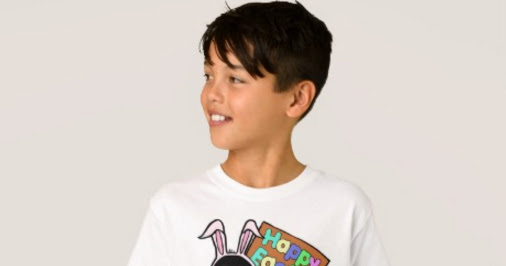 Easter Penguin with Colored Eggs T-Shirts for Kids and Adults at Zazzle!