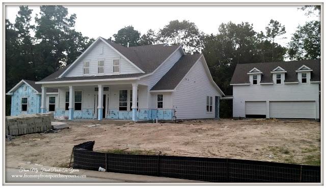 Building a suburban farmhouse- Two Story Garage