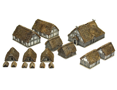 Saxon Village Set