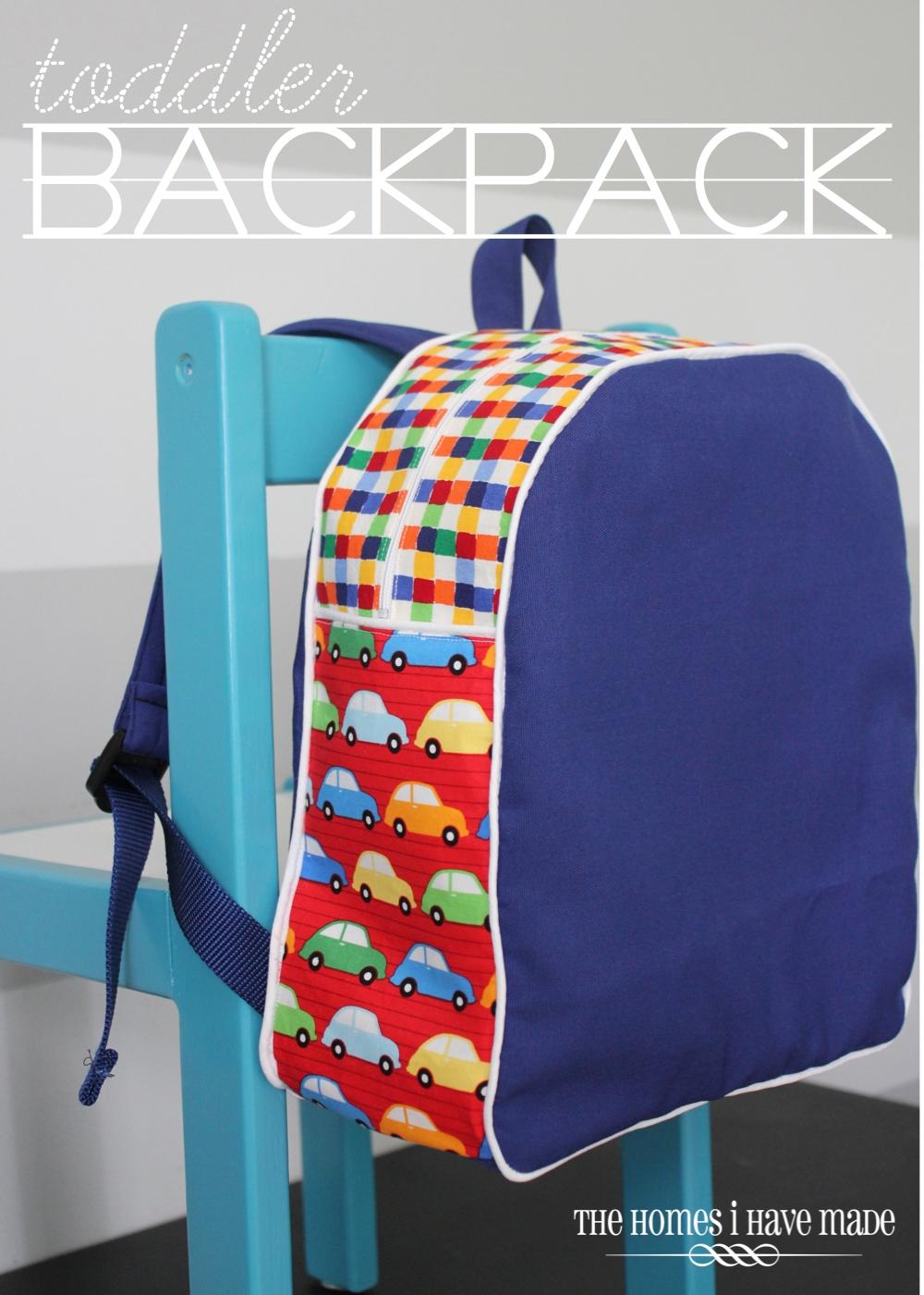 Child Backpack Sewing Pattern Fenix Toulouse Handball