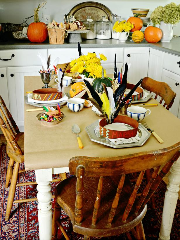 Bellagrey Designs Thanksgiving Table Ideas For Kids