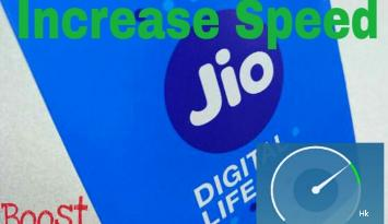 Increase your jio internet