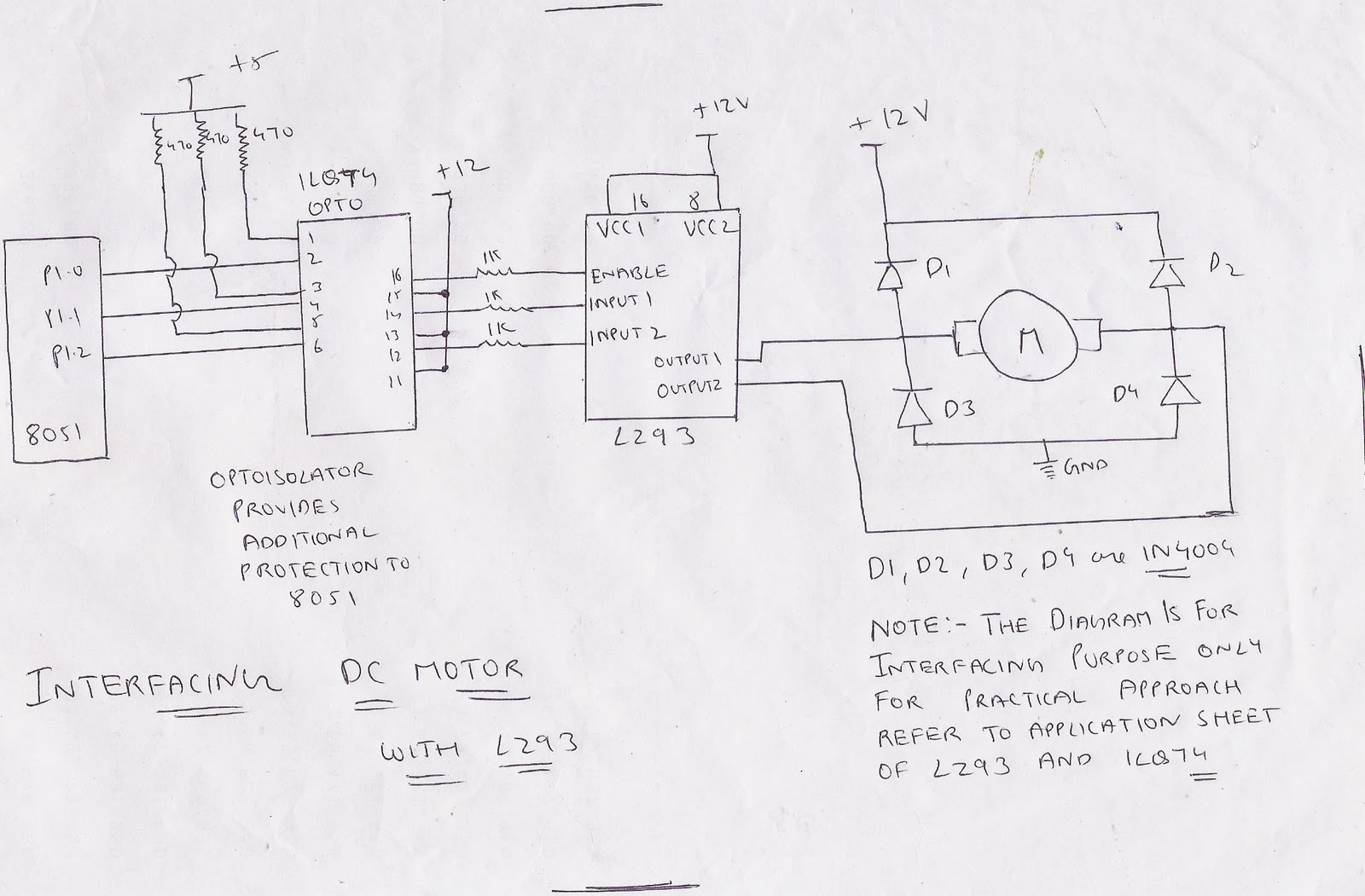 stepper motor microprocessor
