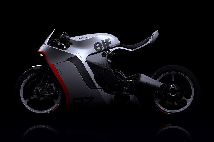 The concept of Moto's MONO RACR 6